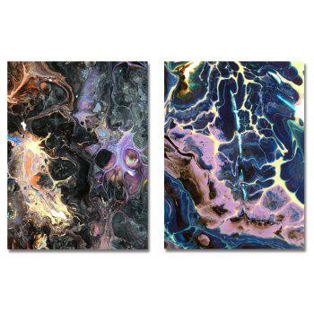 MY43-CX - 44-48 Fashion Abstract Print Art Ready to Hang Paintings 2PCS - multicolor 30 X 40CM X 2