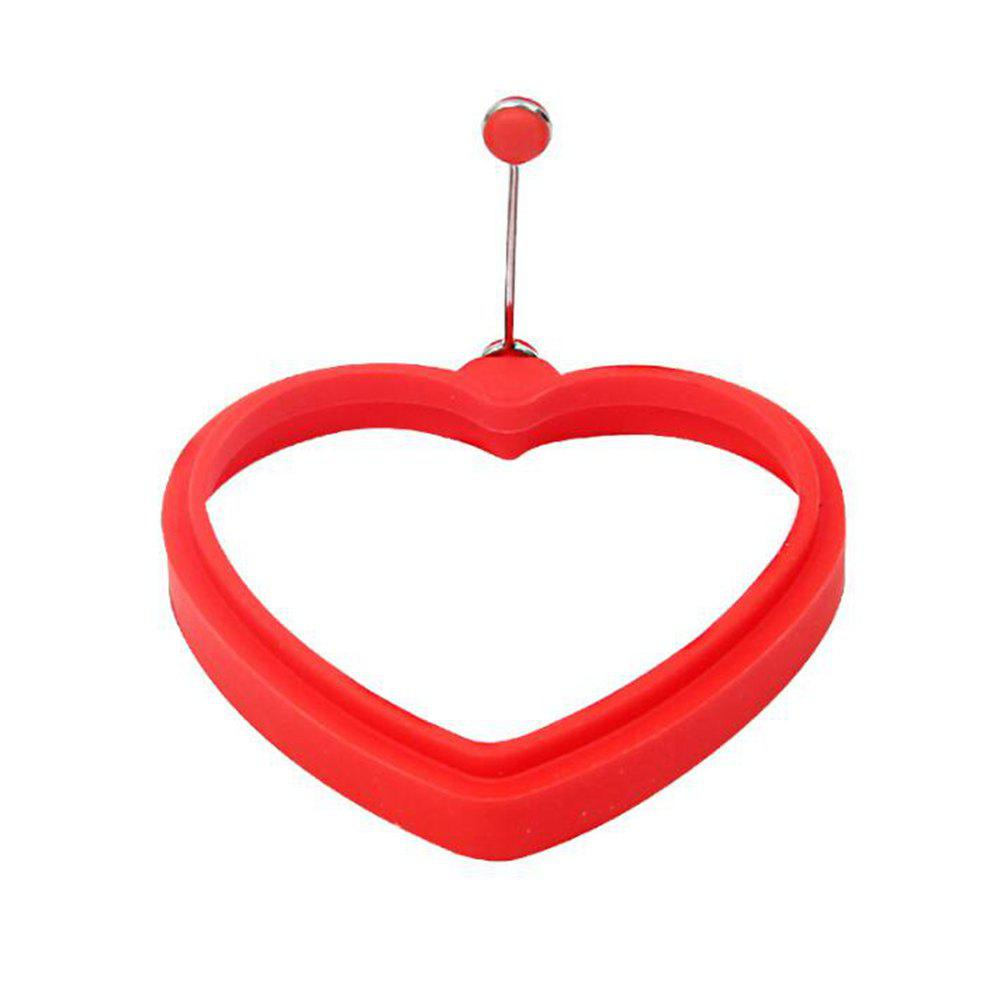 Heart Egg Mold Silicone Pancake Omelette Device Cooking Tool silicone rubber omelette with hand held silicone mold