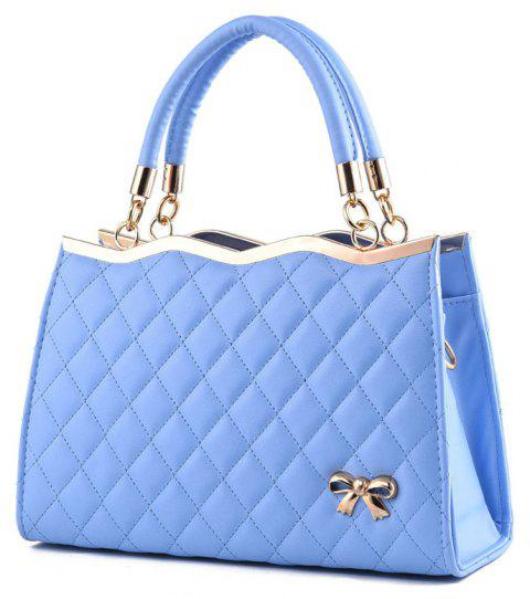 High Quality PU Leather Fashion Handbags for Women - BABY BLUE