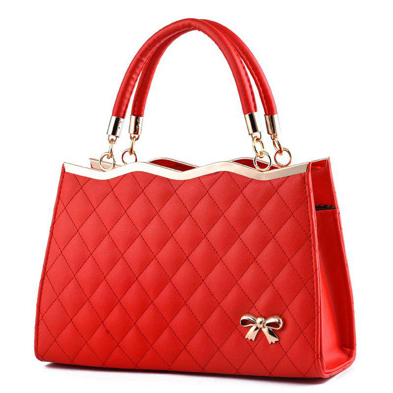 High Quality PU Leather Fashion Handbags for Women - RED