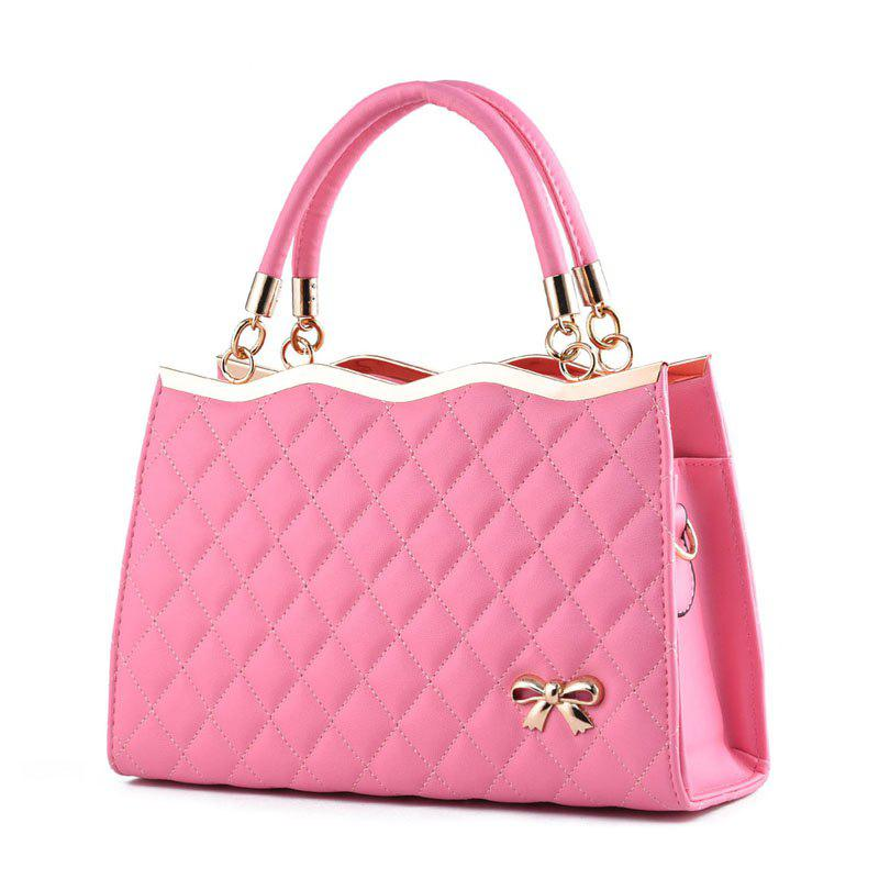 High Quality PU Leather Fashion Handbags for Women - PINK