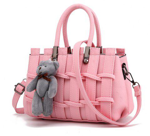 New Fashion PU Leather for Women Handbag - PINK