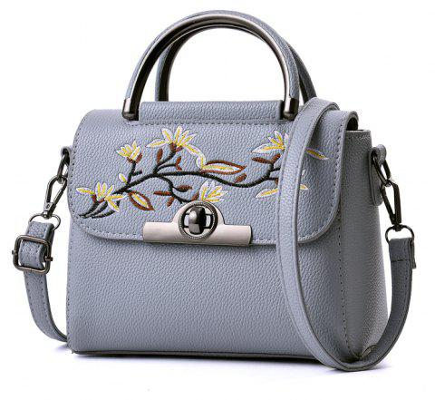 New Fashion PU Leather Lady for Handbag - LIGHT GRAY