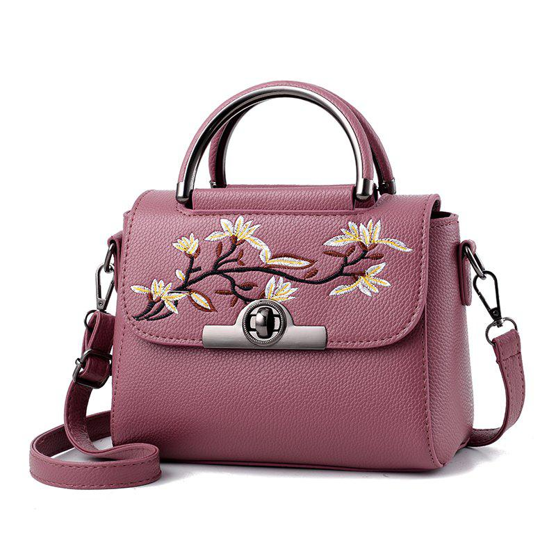 New Fashion PU Leather Lady for Handbag - ROSY BROWN