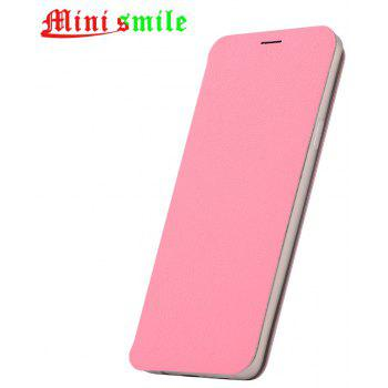 Minismile Fibre Flip Case for Samsung Galaxy S9 with Wallet / Holder / Card Slot - PINK