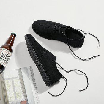 2018 Spring New Casual Shoes - BLACK 44