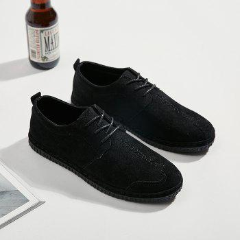 2018 Spring New Casual Shoes - BLACK 42