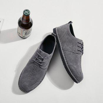 2018 Spring New Casual Shoes - GRAY 43