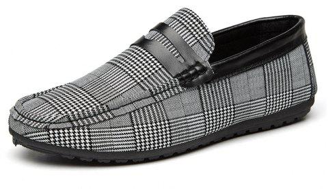 Spring Tidal Current Male Shoes Pedaling and Breathtaking - BLACK 44