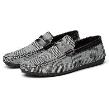 Spring Tidal Current Male Shoes Pedaling and Breathtaking - BLACK 43