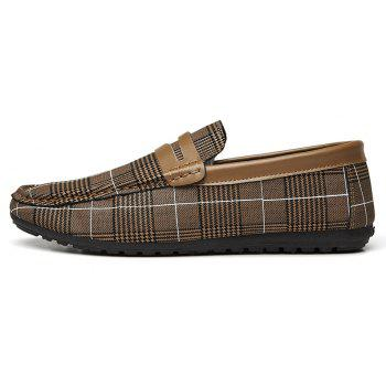 Spring Tidal Current Male Shoes Pedaling and Breathtaking - BROWN 41