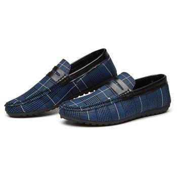 Spring Tidal Current Male Shoes Pedaling and Breathtaking - BLUE 44