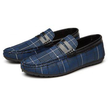 Spring Tidal Current Male Shoes Pedaling and Breathtaking - BLUE 42