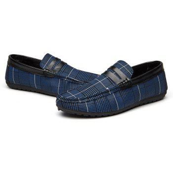 Spring Tidal Current Male Shoes Pedaling and Breathtaking - BLUE 40