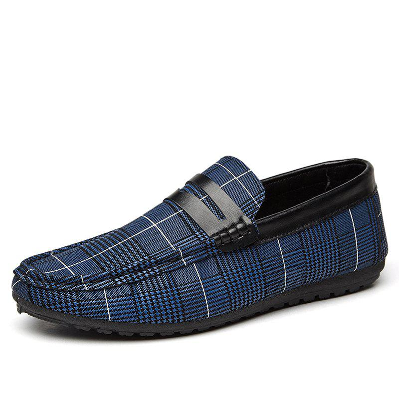 Spring Tidal Current Male Shoes Pedaling and Breathtaking - BLUE 39