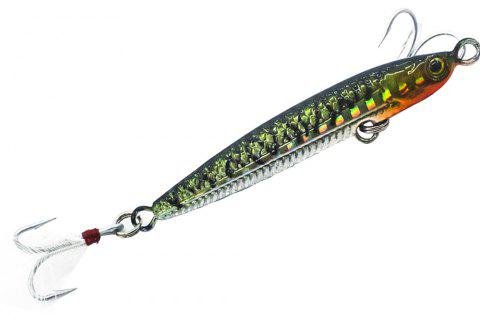 HONOREAL 14g 20g New Metal Jigging Fishing Lure Lead Fish with VMC Hook - BLACK 20G