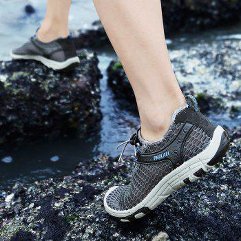 Beach Lightweight Swimming Breathable Sandals Shoes Comfort FlatsSneakers - DARK GRAY 42