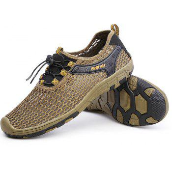 Beach Lightweight Swimming Breathable Sandals Shoes Comfort Flats Sneakers - BROWN BEAR 44