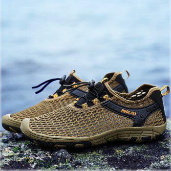 Beach Lightweight Swimming Breathable Sandals Shoes Comfort FlatsSneakers - BROWN BEAR 43