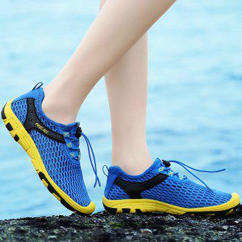 Beach Lightweight Swimming Breathable Sandals Shoes Comfort FlatsSneakers - OCEAN BLUE 45