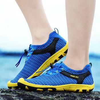 Beach Lightweight Swimming Breathable Sandals Shoes Comfort FlatsSneakers - OCEAN BLUE 42