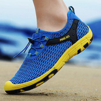 Beach Lightweight Swimming Breathable Sandals Shoes Comfort FlatsSneakers - OCEAN BLUE 36