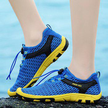 Beach Lightweight Swimming Breathable Sandals Shoes Comfort FlatsSneakers - OCEAN BLUE 38