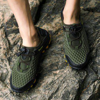Lightweight Beach Swimming Breathable Sandals Shoes Comfort FlatsSneakers - CAMOUFLAGE GREEN 45