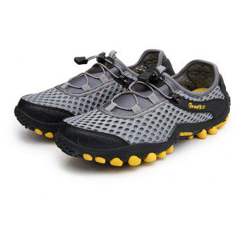 Lightweight Beach Swimming Breathable Sandals Shoes Comfort FlatsSneakers - BATTLESHIP GRAY 41
