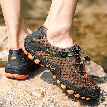 Lightweight Beach Swimming Breathable Sandals Shoes Comfort Flats Sneakers - PUCE 44