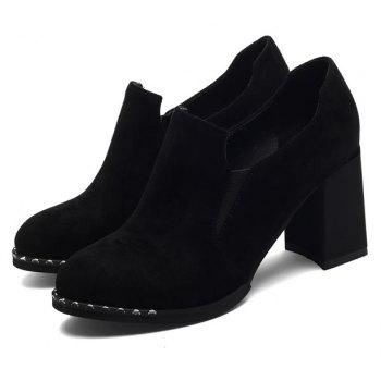 Slack and High Heeled Leisure Professional Women Shoes - BLACK 37