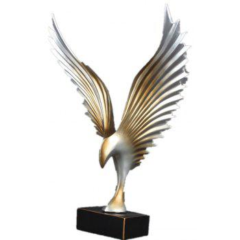 Simple Modern Home Cabinet Office Gifts Hawk Table Decoration - SILVER