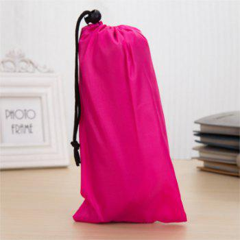 Outdoor Portable Folding Water Basin for Business Trip - DEEP PINK