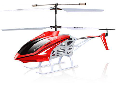 S39 RC Helicopter Aircraft 3.5CH 2.4GHz Gyro Flashing Light Remote Control Toy - RED