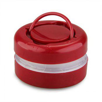 Retractable Portable Outdoor Camping Light - RED WINE