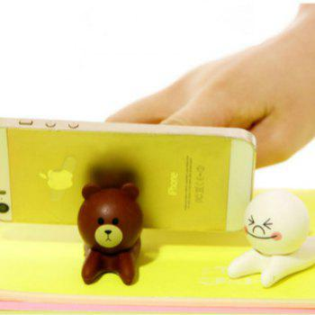 Multifunction Tablet PC Smartphone  Mobile Phone   Holder - BROWN BEAR