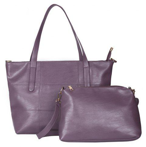 Wild Messenger Fashion Shoulder Large Capacity Photo Bag Waterproof - VIOLET
