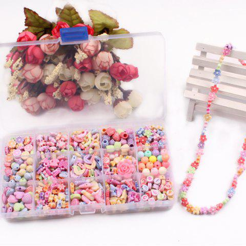 Children Educational Toys Handmade Materials Beads Package Creative Toys - multicolor A