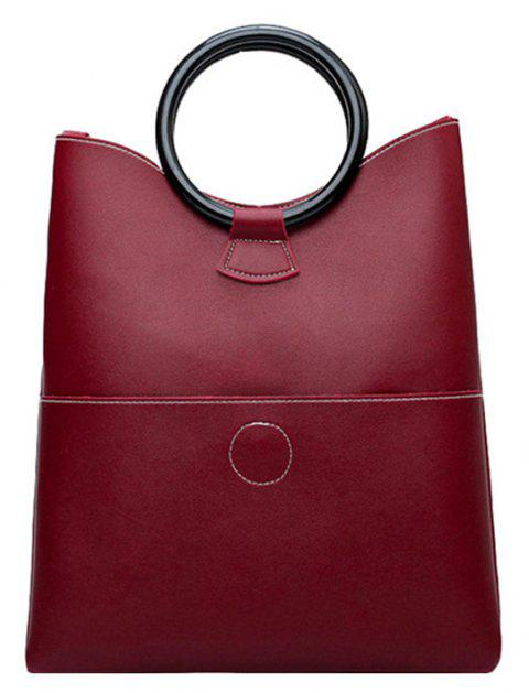 Women'S Handbag Trend Fashion Accessories Single Shoulder Bag - RED WINE