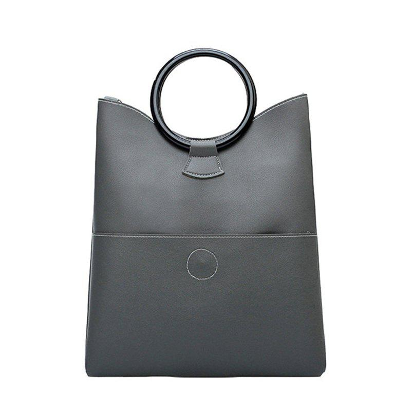 Women'S Handbag Trend Fashion Accessories Single Shoulder Bag - GRAY