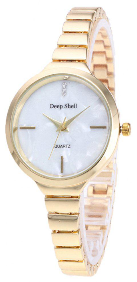 Fashion Fine Steel with Lady's Watch - GOLD