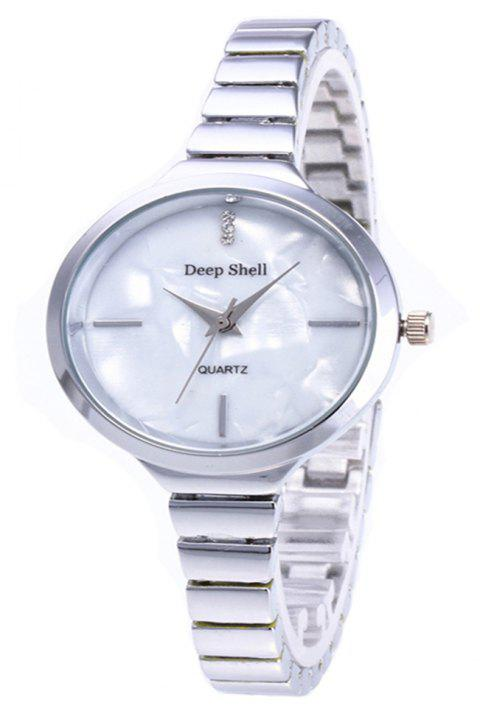 Fashion Fine Steel with Lady's Watch - SILVER