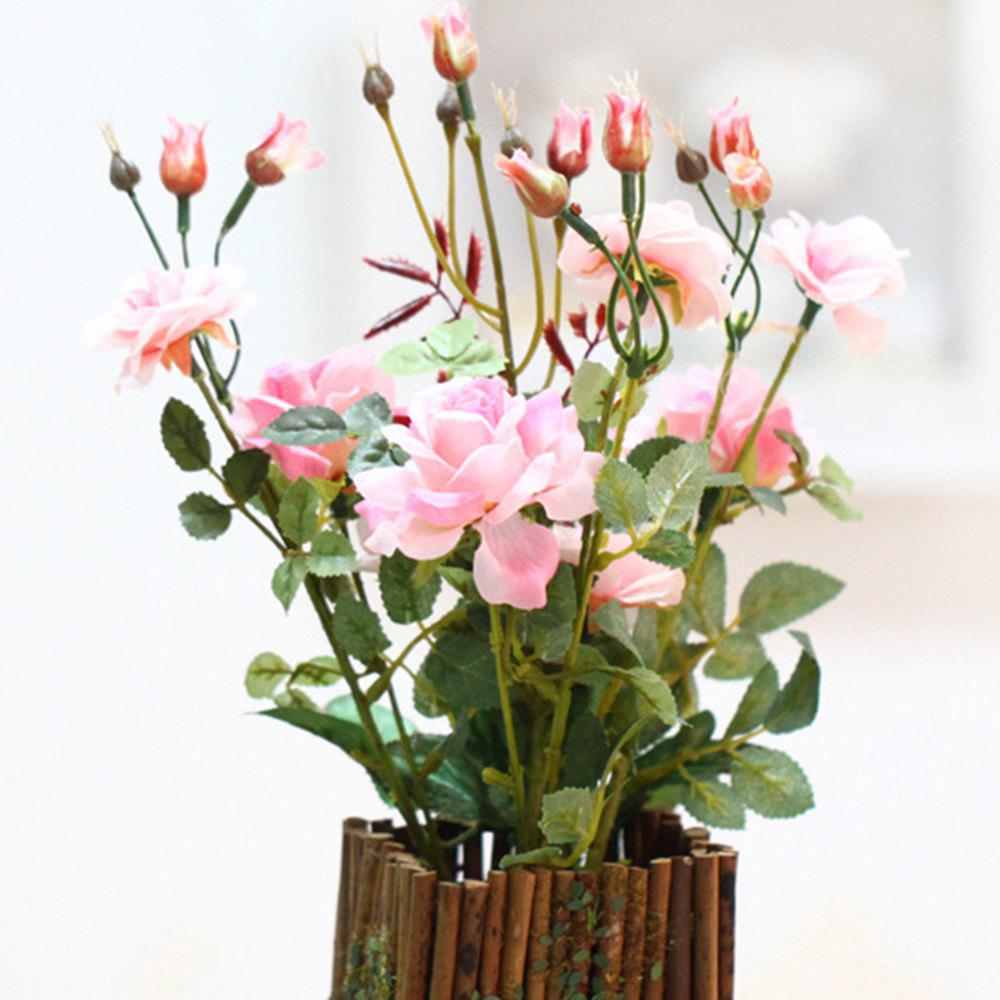 Rural Household Decoration Potted Art Flowers rural household endowment and poverty