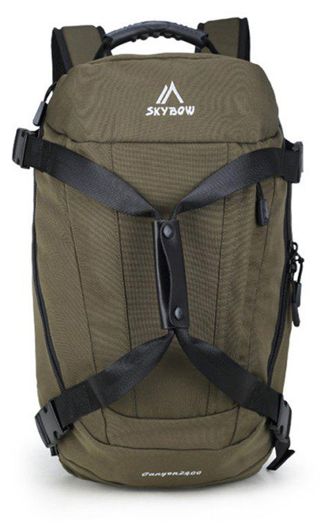 New Outdoor Mountaineering Tourism Sports Shoulder Bag - ARMY GREEN