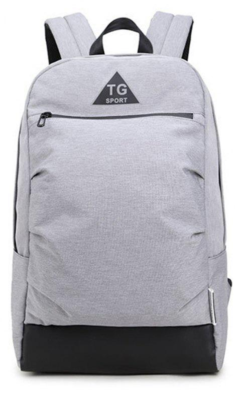 New Travel Fashion Backpack - LIGHT GRAY