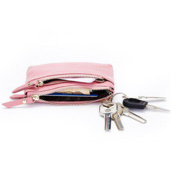 Big Capacity Women Wallets Ladies Clutch Female Fashion Leather Bags - PINK