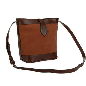 Women's Solid Color Traveling Large Capacity Casual Bag - BROWN