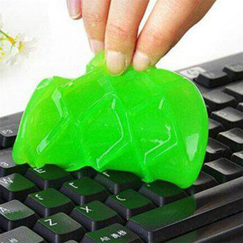 Keyboard Clean Glue Soft  Clay Car Laptop Magic Health Cleaning - GREEN