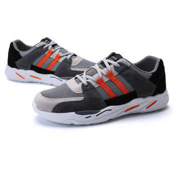 All-Match Shoes Casual Shoes Mens Shoes Breathable Shoes - SUNRISE ORANGE 43