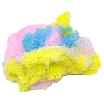 Three Color Fairy Tale Cloud Crystal Mud - multicolor A